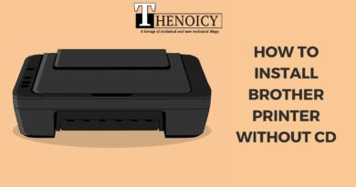 How to install brother printer without cd