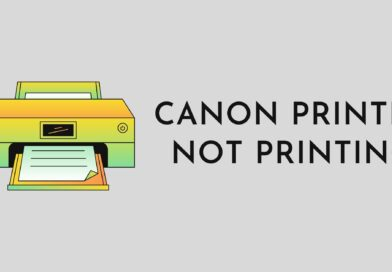 Canon Printer not printing